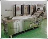 Macchina d'imbiancamento di verdure approvata del Ce PT-2000, macchina di trasformazione delle verdure in acqua calda