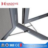 Ventana de ventanilla de aluminio de tamaño pequeño