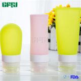 Bottiglia di viaggio compressa brevettata 37ml/60ml/89ml del silicone
