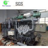 Compresor de impulso de la presión de gas del N2 del gas del nitrógeno usado en acoplado móvil del patín semi