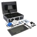 AbwasserkanalLeitungsrohr-Inspektion-Kamera-Abfluss-Kamera mit Längen-Kostenzähler und Tastaturen