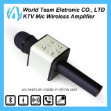 Kühle Form mini bewegliches drahtloses Bluetooth Karaoke-Kondensator-Mikrofon