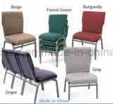 Apilable de metal usado de acero silla de la iglesia