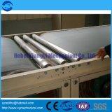 A linha de produção da placa de gipsita - placa de gipsita - papel enfrentou a máquina da placa