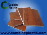 Película de laminação plástica de PVC de mármore usada em placa de espuma de PVC