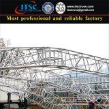 Sistema de telhado curvado resistente para grandes eventos