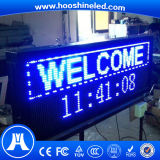 Alta confiabilidade P10 SMD3528 White Color LED Taxi Top Advertising