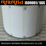 Étiquette programmable imprimable de collant d'IDENTIFICATION RF de zèbre de fréquence ultra-haute Dymo