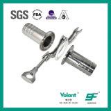 Accoppiamento di tubo flessibile sanitario dell'acciaio inossidabile