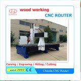 Машина Engraver маршрутизатора CNC дешево 4 осей для деревянной мебели