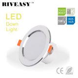 5W 2.5 iluminación ligera White+High Ce&RoHS ligero 3CCT de la pulgada LED abajo Downlight