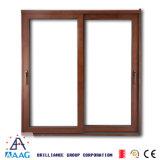 Perfil de aluminio del estilo europeo decorativo para la ventana de desplazamiento