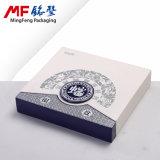 Rectángulo de regalos conmemorativo chino elegante retro de la moneda del MDF