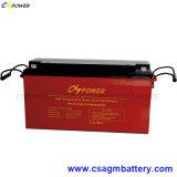 Batterie solaire de gel de cycle profond 12V 150ah pour des zones sensibles