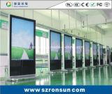 касание LCD 55inch полное HD цифров взаимодействующее рекламируя игрока