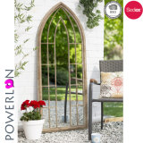 Miroir de guichet de jardin en métal