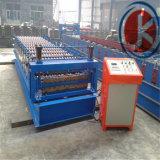 la última máquina de aluminio del escalonamiento de la azotea del panel del metal de Ibr de la capa doble