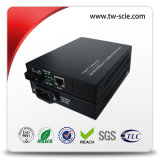 Il convertitore di media con 10/100m 1310/1550nm sceglie ottico di fibra bidirezionale di Wdm 25km della fibra a RJ45