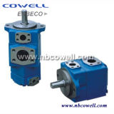 100% Factory Sale Single Stage Oil Rotary Vane Pump