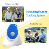 3G waterdichte GPS Drijver met Sos Knoop, Stem die Manier 2 voor Jonge geitjes/Bejaard MiniGPS Merkteken Echt - het Volgen van de tijd door Platform Cellphone Apps roepen Te volgen