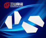 Triangular Alumina Curved Bulletproof Plates 50*25*10mm