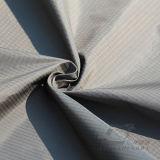 água de 50d 310t & do Sportswear tela 100% Dobro-Listrada tecida do Pongee do poliéster do jacquard da manta do diamante para baixo revestimento ao ar livre Vento-Resistente (53241R)