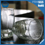 cuvette transparente en verre du whiskey 250ml