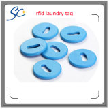 24/26mm Hf 플라스틱 NFC 빨 수 있는 RFID 세탁물 꼬리표
