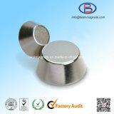 円錐形常置ディスクネオジムの磁石の極度の強い磁石