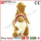 Angefülltes Plüsch-Spielzeug-Kamel kleine Bell auf seinem Stutzen