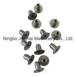 Precisão do CNC que processa os encaixes do aço inoxidável
