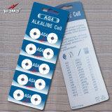 Batteria alcalina delle cellule del tasto di AG4 Lr626 1.5V