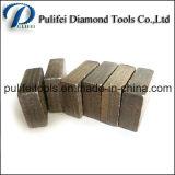 Segmento concreto da laje do granito do cortador do diamante para a máquina de estaca da alvenaria