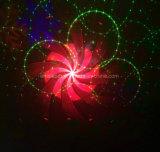 Red Green 48 Patterns Disco Laser Luz RGBW LED Snowflake Luz Luz de Palco