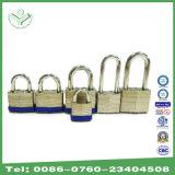 Sicherheit lamelliertes Vorhängeschloß mit Messingzylinder-und Messing-Schlüssel (740)