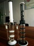Tubulação de fumo de vidro comum de Perc Downstem da esfera do reciclador 14mm