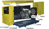Cummins a actionné le générateur 150kVA diesel silencieux refroidi à l'eau