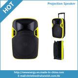 Haut-parleur numérique numérique en plastique de 12 pouces avec projecteur