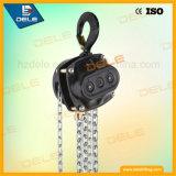 Pequeña elevación de la máquina del bloque de cadena 3ton