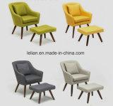 Bank van de Enige Zetel van Jennifer Taylor de Modern Fabric Furniture, de Stoel van het Wapen (ll-BC079)