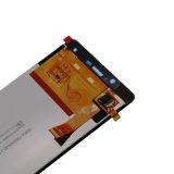 Мобильный телефон LCD для голубой панели касания клетки R1 HD