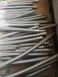 Les garnitures/brides mâles femelles ont assemblé le boyau tressé de métal flexible
