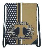 La chaussure personnalisée de cordon met en sac les sacs de cordon faits sur commande promotionnels