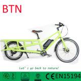 Btn 2 바퀴 녹색 전기 화물 자전거