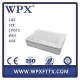 FTTX GPON Home Gateway Unit hgu Ont VoIP + WiFi + USB