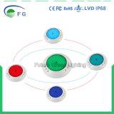 Indicatore luminoso subacqueo RGB LED del Ce della piscina impermeabile di RoHS 100%