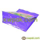 Bolso plástico inferior del acondicionamiento de los alimentos del bloque