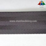 Tenacia alta tessitura di nylon della cintura di sicurezza del caffè nero da 1.5 pollici