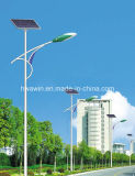 Cer RoHS FCC genehmigte 8m Pole 45W Solardie straßenlaterne