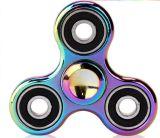 Gelegentliche Mischungs-Farben Wholesale Handbunten EDC-Metallzink-Legierungs-Unruhe-Spinner für Kind-erwachsenes Geschenke Tri-Spinner Unruhe-Spielzeug